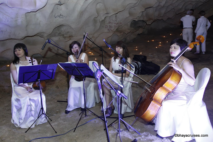 Music band in Cave