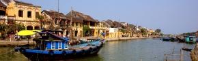 Hoian: River cruising